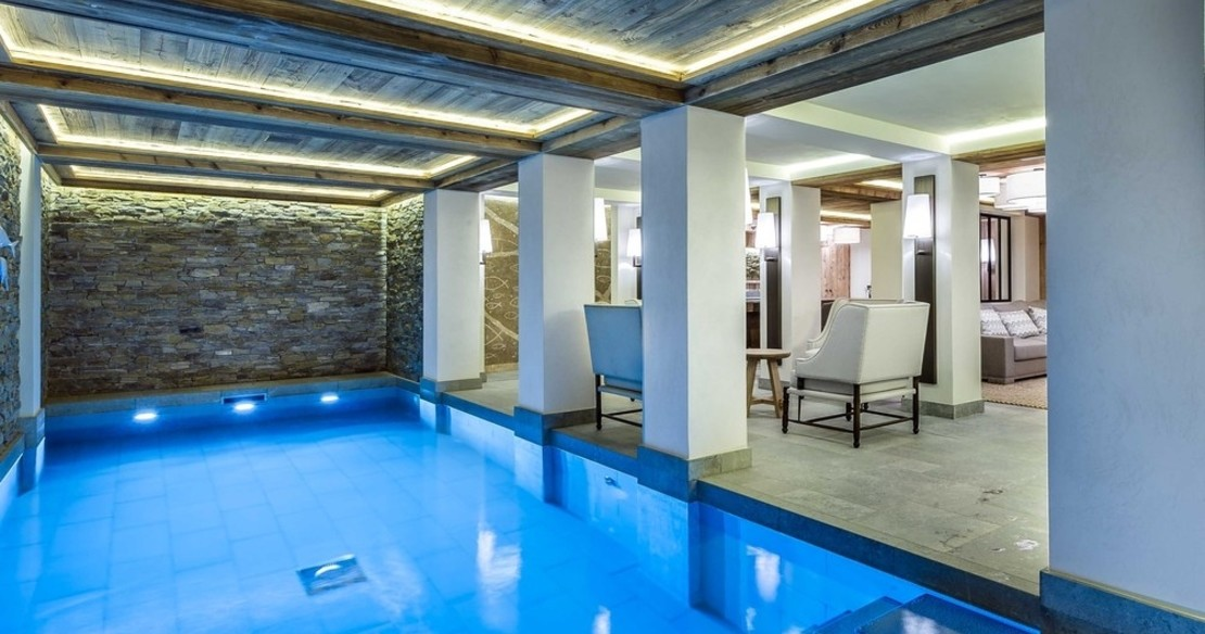 Chalet Bastidons, Courchevel 1850, swimming pool