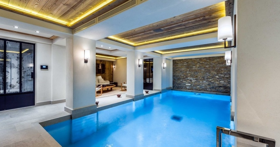 Chalet Nanuq, Courchevel 1850, the swimming pool