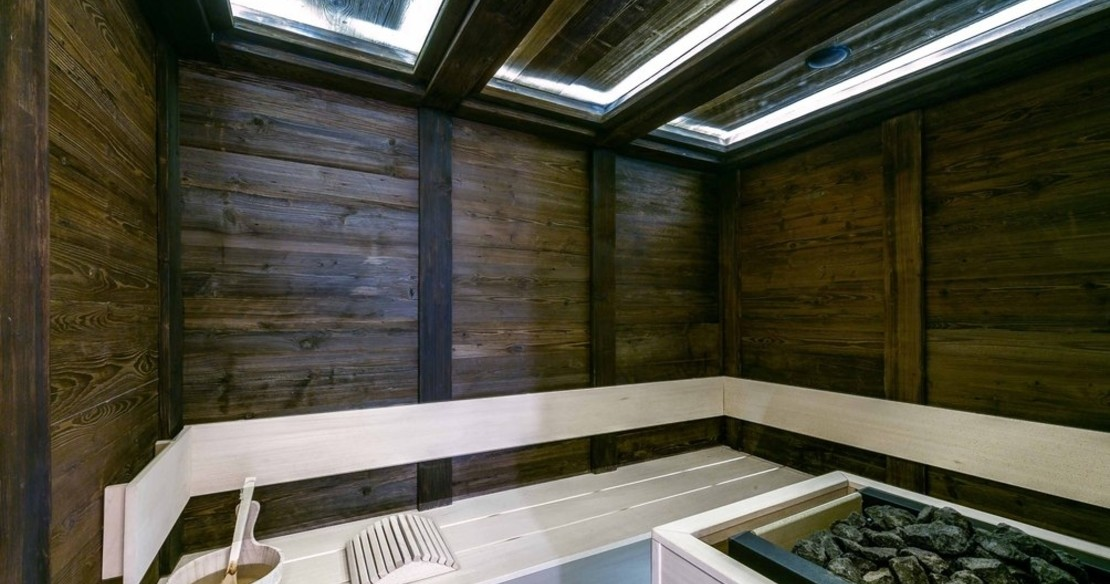 Chalet Cryst'Aile, Courchevel 1850, sauna