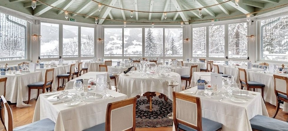 Hotel Cristallo Spa & Golf, Cortina, restaurant