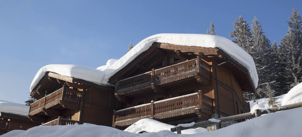 Chalet Colombe Courchevel exterior