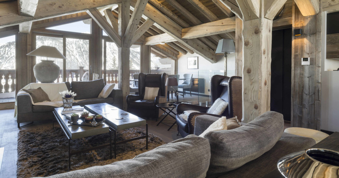 Chalet Colombe Courchevel lounge