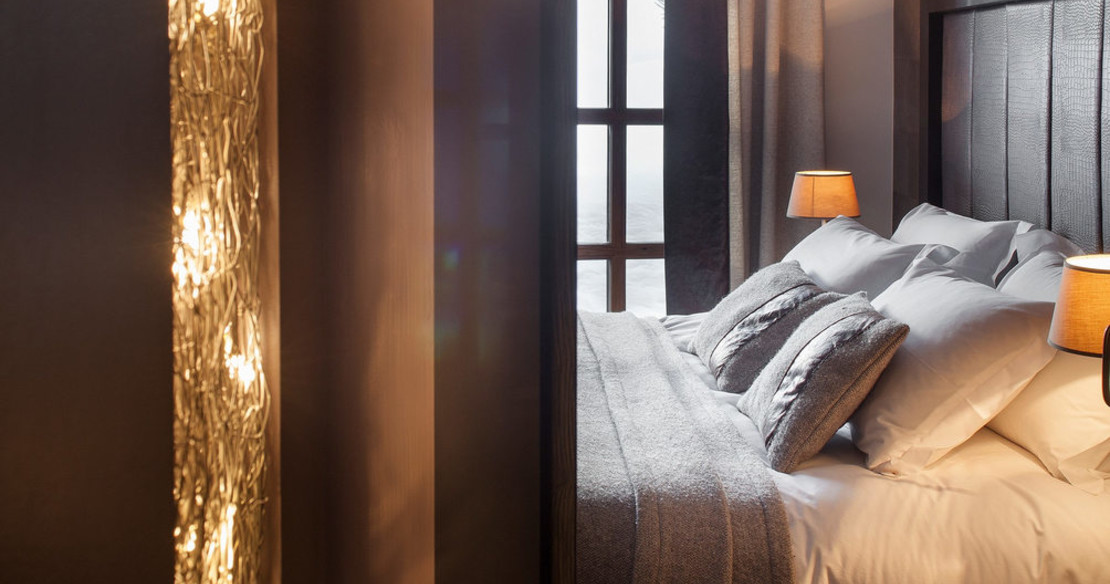 Chalet Colombe Courchevel bed