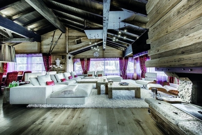 Chalet Black Pearl Courchevel gym