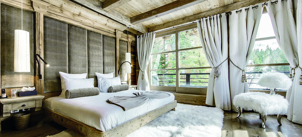 Chalet Black Pearl Courchevel bedroom