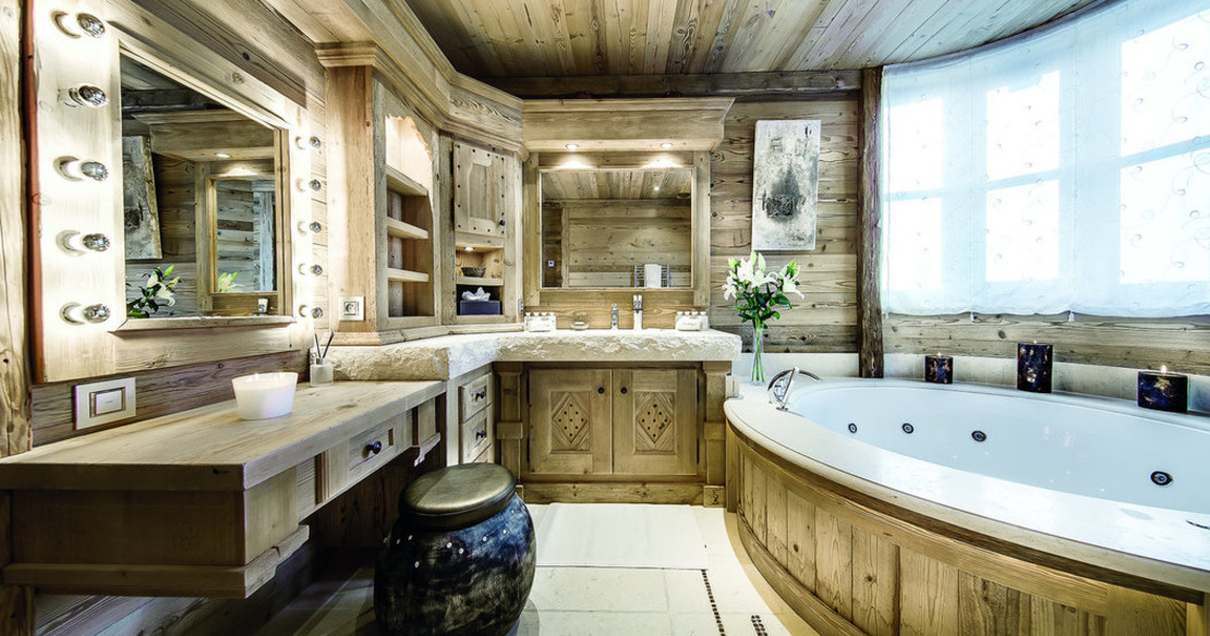 Chalet Black Pearl Courchevel bathroom