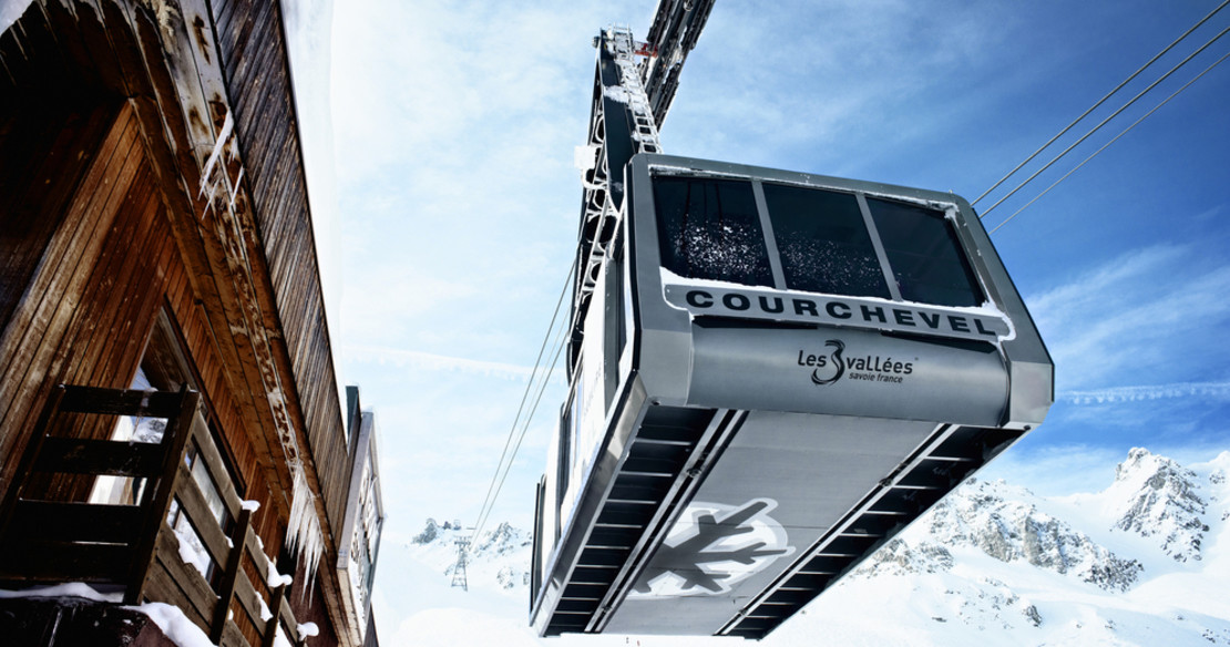 Ski resort of Courchevel