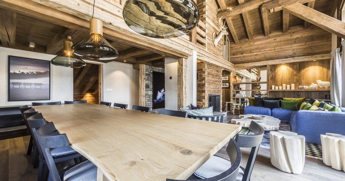 Chalet Calistoga Val d'Isere - dining area