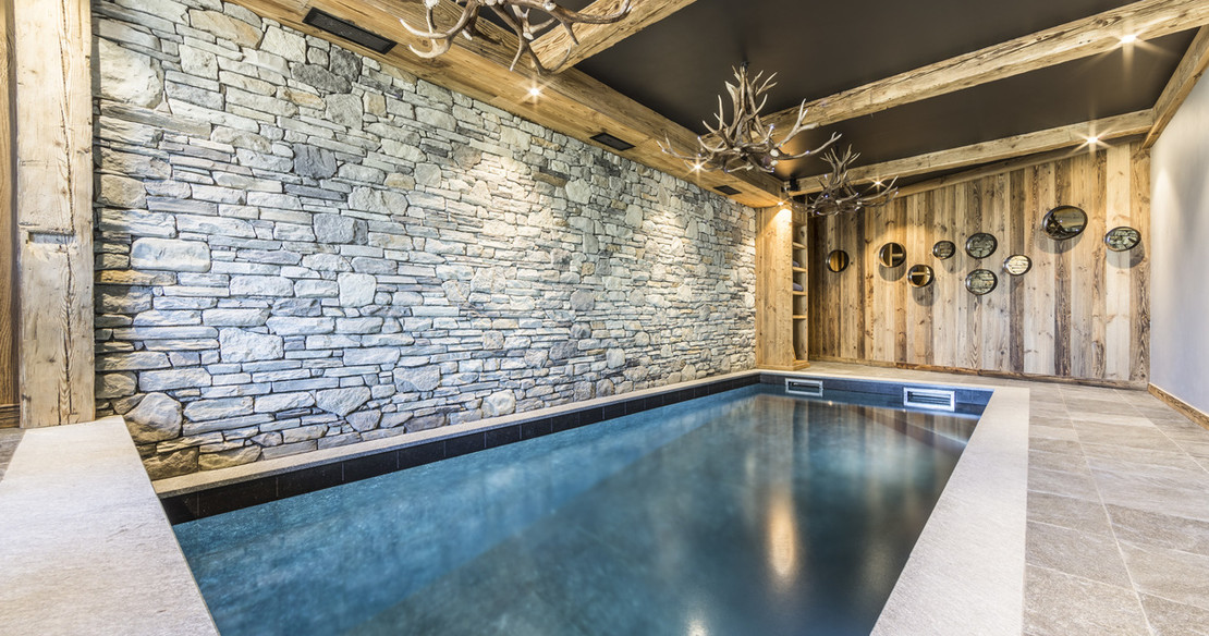 Chalet Calistoga Val d'Isere plunge pool