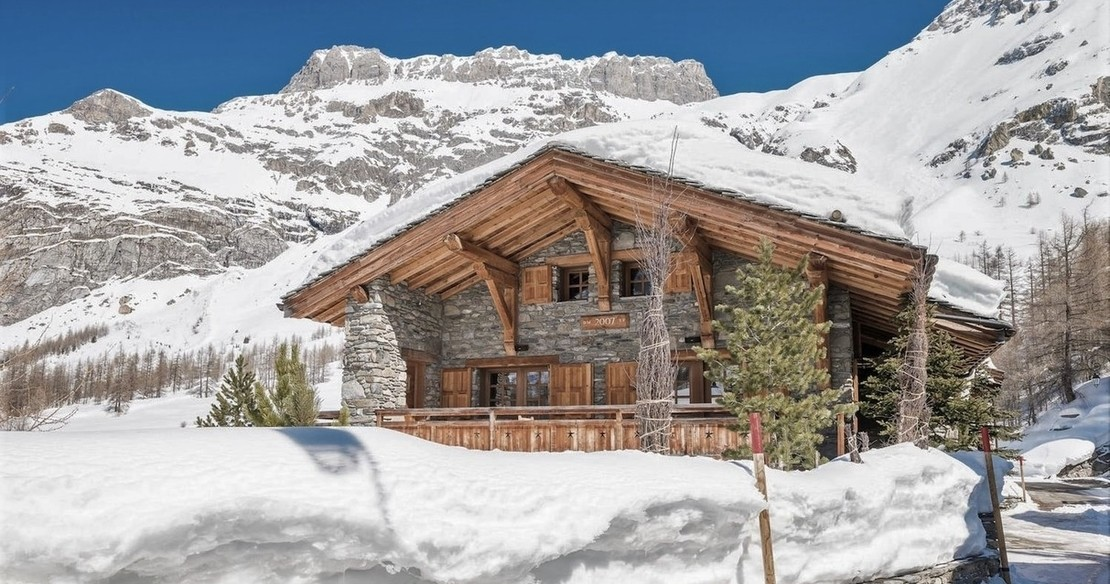 Chalet Calistoga Val d'Isere exterior