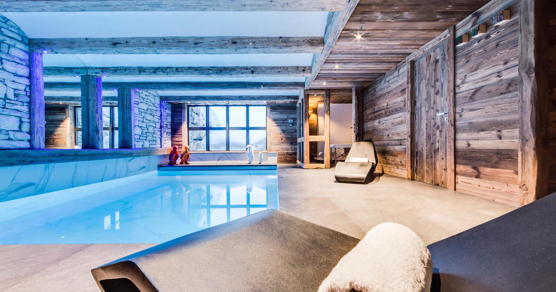 Chalet Daria - Val d'Isere - swimming pool