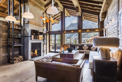 Chalet Kilco Penthouse - Val d'Isere - bedroom