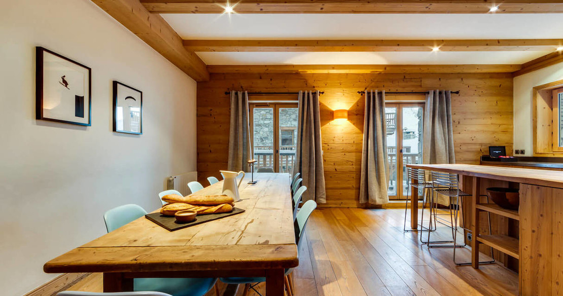 Chalet Grand Sarire - dining