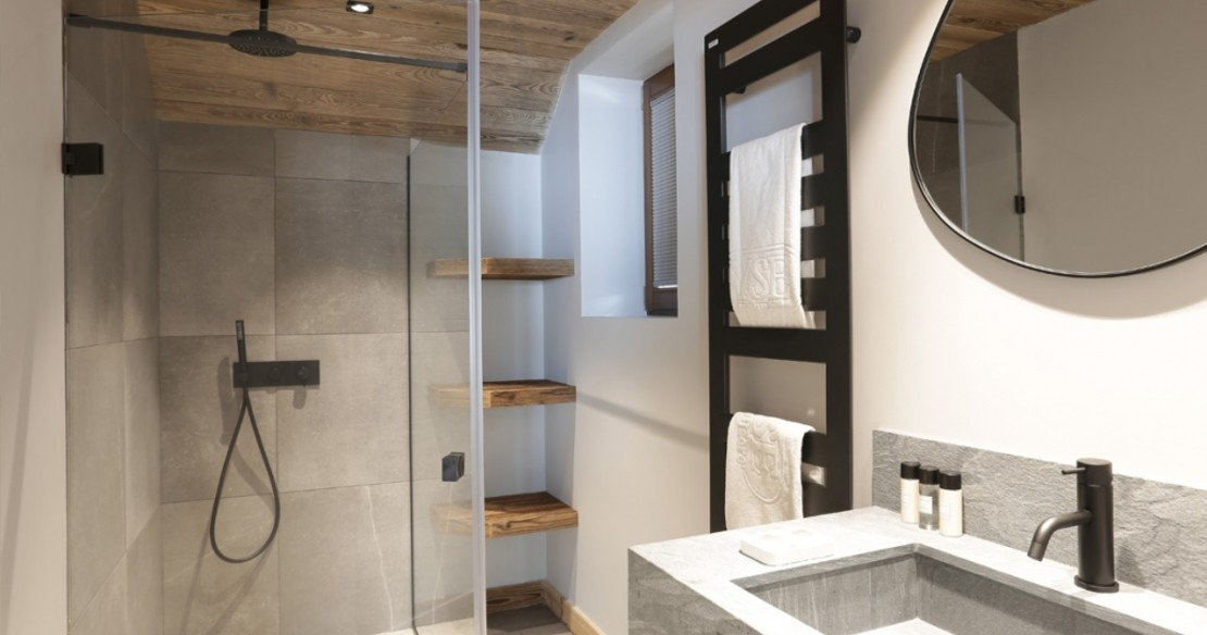 Chalet Lucaval Val d'Isere - shower