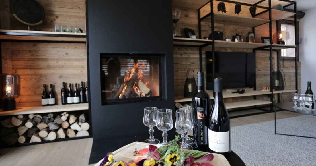 Chalet Lucaval Val d'Isere - canapes