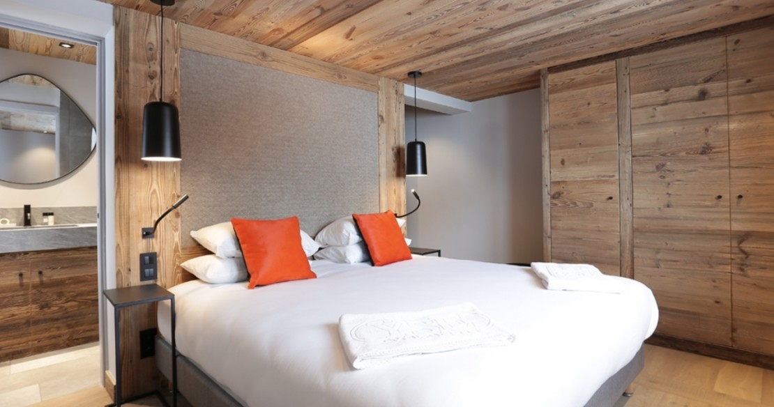 Chalet Lucaval Val d'Isere - bedroom